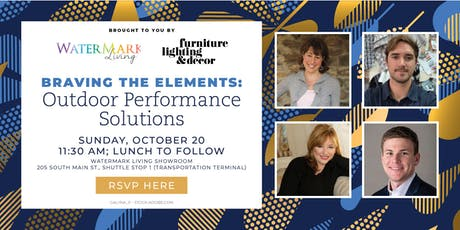 Braving the Elements - Watermark Living Panel at High Point Market tickets