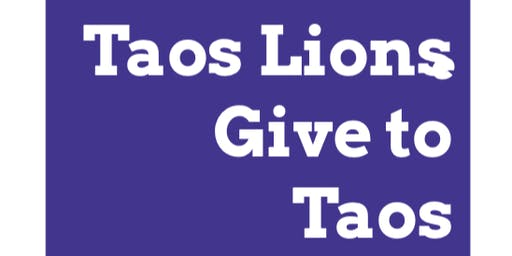 Taos Lions Give to Taos Kids- 2019