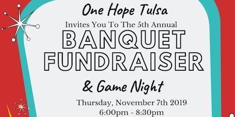 One Hope Tulsa Banquet  tickets