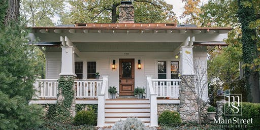 Wine & Design Seminar:  Covering Home Makeovers with a Focus on Exteriors
