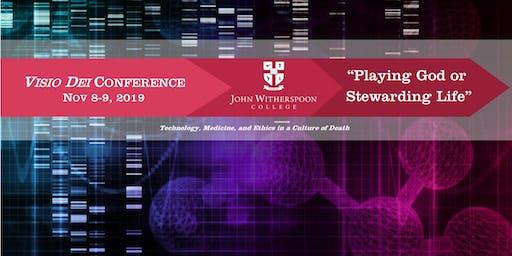"""JWC Visio Dei Conference Nov 8-9: """"Playing God or Stewarding Life"""""""