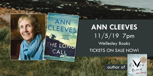 "Ann Cleeves presents ""The Long Call"""