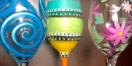Wine Glass Painting @ We Olive Sunday 10/27 12 Noon tickets