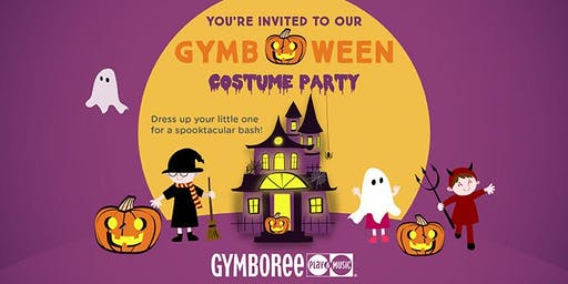 Gymb-O-Ween Costume Party.