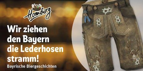 Bayrisches Craftbeer Tasting - Wir ziehen den Bayern die Lederhosen stramm Tickets