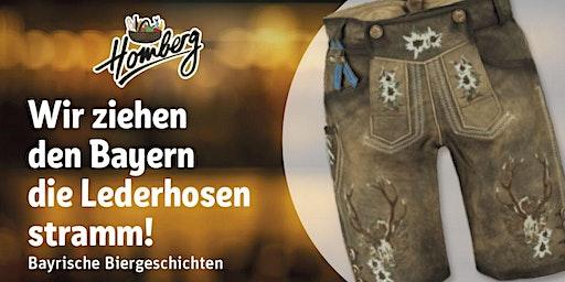 Bayrisches Craftbeer Tasting - Wir ziehen den Bayern die Lederhosen stramm
