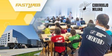 Fastweb & CoderDojo Milano: We code together tickets