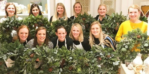 Deck the Halls! Winter Wreath & Holiday Sign-Making Workshop