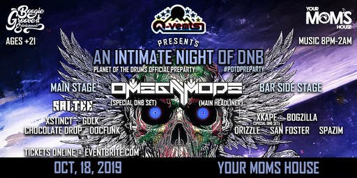 Q-Vents Presents:(An Intimate Night of DNB)#potdpreparty