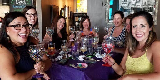 Beer Glass Painting class at The Infinite Monkey Theorem 10/21 @7pm