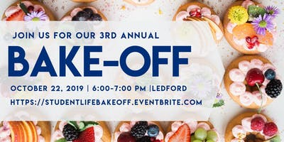 SA&D 3rd Annual Bake-Off