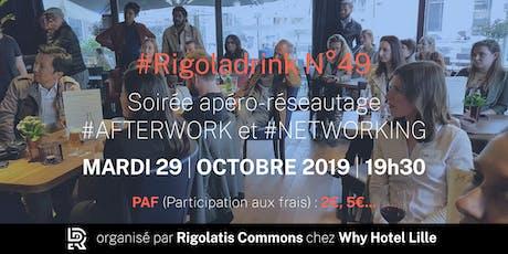 Rigoladrink N°49 - octobre 2019  (Réseautage) billets