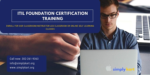 ITIL Certification Training in Fort Saint James, BC