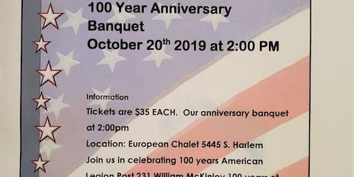 100 Year Anniversary Banquet