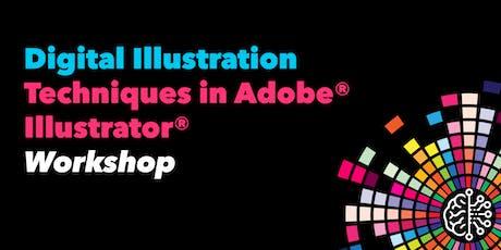 Digital Illustration Techniques in Adobe® Illustrator® tickets