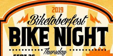 Biketoberfest Bikes Night with Band: Mutts & Volk at Brauer House tickets