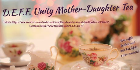 D.E.F.F. Unity Mother-Daughter Annual Tea tickets