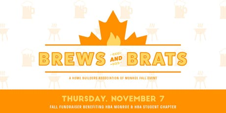 Brews & Brats HBA Monroe Fall Fundraiser tickets