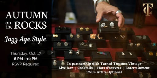 "Autumn on the Rocks: ""Jazz Age Style"" at Tailor Cooperative"
