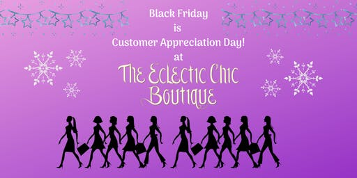 Black Friday is Customer Appreciation Day