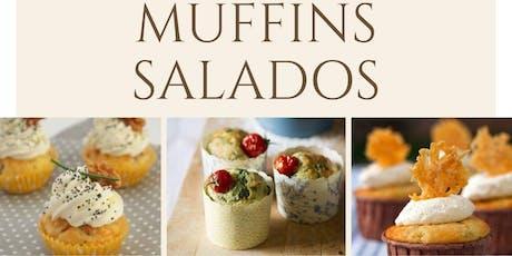 Muffins Salados con la Chef Liza Ojeda en Anna Ruíz Store entradas