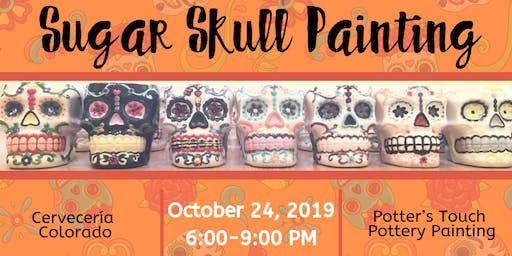 Sugar Skull Painting at Cervecería Colorado (10/24)