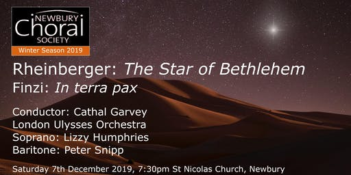 NCS Winter Concert - Rheinberger: The Star of Bethlehem