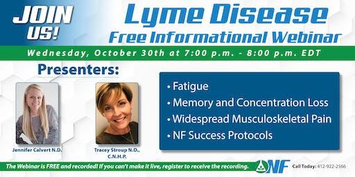 Lyme Disease - Free Informational Webinar