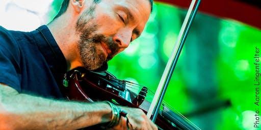 Dixon's Violin wsg: Reaiah True of Mystic Dub and spoken word by Elene
