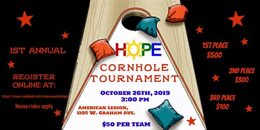 Mayes County HOPE Coalition Cornhole Tounament