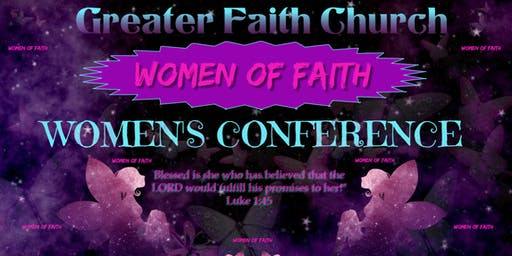 GFC Women of Faith Women's Conference 2019  S.C.A.R.S