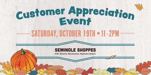 Customer Appreciation Event