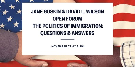 Open Forum: The Politics of Immigration tickets
