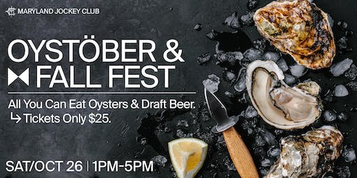 Laurel Park's Oystöber & Fall Fest