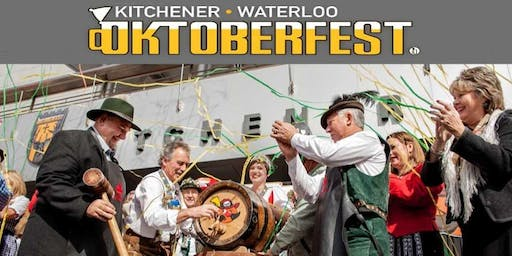 Oktoberfest in Kitchener with Bavarian Dinner and Music
