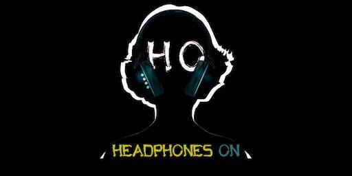 Headphones On PRESENTED BY: DJ CRUZ + MESSICAN ART (Halloween Ed.)