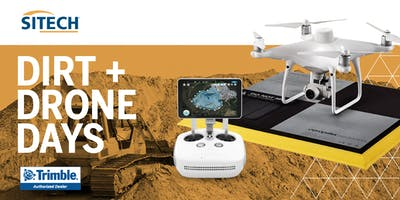 SITECH Intermountain presents...Dirt + Drone Days with Trimble Stratus