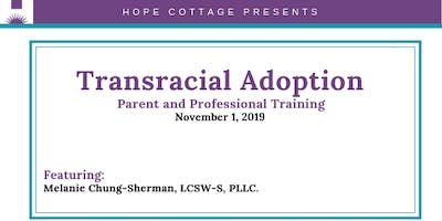 Transracial Adoption Training