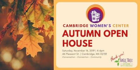 Cambridge Women's Center Fall Open House tickets