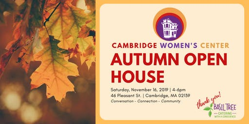 Cambridge Women's Center Fall Open House