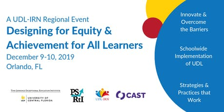 Designing for Equity and Achievement for ALL Learners tickets