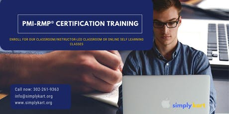 PMI-RMP Certification Training in Yellowknife, NT tickets