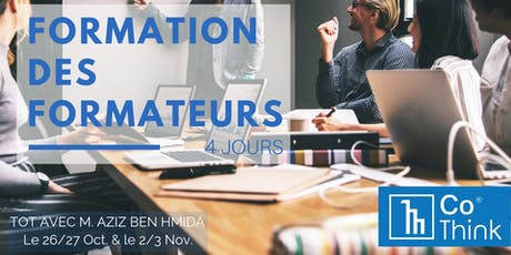 Formation des formateurs tickets
