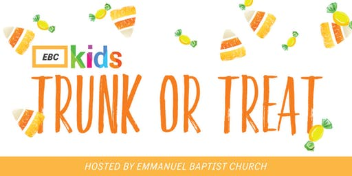 EBC Kids Trunk or Treat