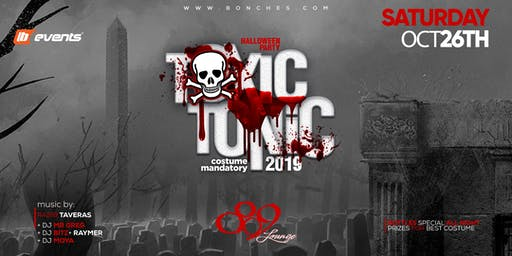 TOXIC TONIC HALLOWEEN PARTY