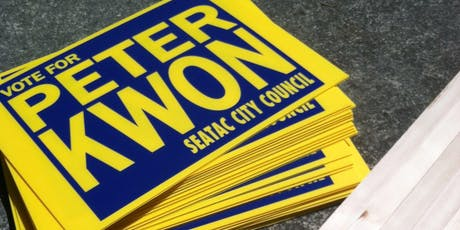 Peter Kwon for SeaTac City Council tickets