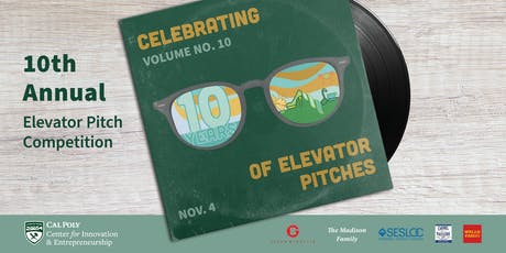 CIE Elevator Pitch Competition tickets