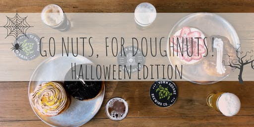 Go Nuts For Doughnuts - Beer & Doughnut Pairing - Halloween Edition!