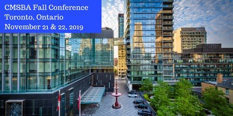 CMSBA Fall Conference 2019 tickets