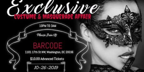 Exclusive Costume & Masquerade Affair tickets